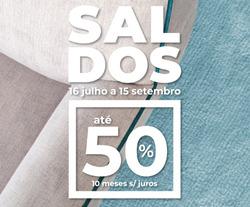 Promoção de OK Sofás no folheto de Porto