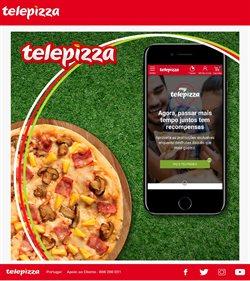Ofertas Restaurantes no folheto Telepizza em Lisboa ( 29 dias mais )