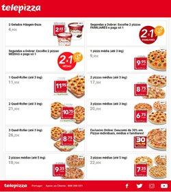 Ofertas Restaurantes no folheto Telepizza ( Mais de um mês )