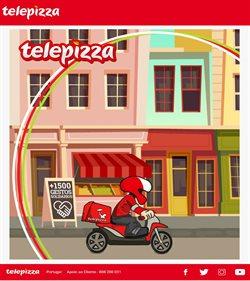 Ofertas Restaurantes no folheto Telepizza em Aveiro ( Mais de um mês )