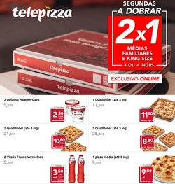Ofertas de Restaurantes no folheto Telepizza (  3 dias mais)