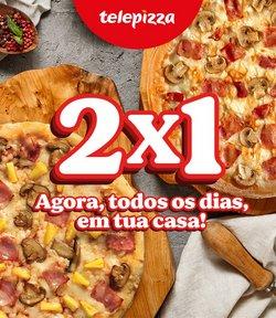Ofertas de Restaurantes no folheto Telepizza (  10 dias mais)