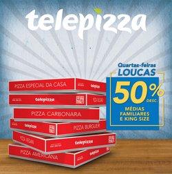 Ofertas de Restaurantes no folheto Telepizza (  14 dias mais)