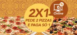 Promoção de Restaurantes e snack-bares no folheto de Telepizza em Lisboa