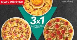 Promoção de Telepizza no folheto de Lisboa