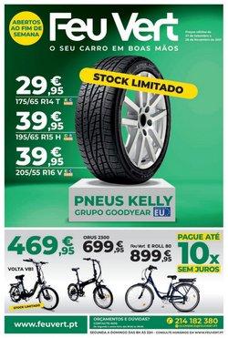 Ofertas de Carros, Motos e Peças no folheto Feu Vert (  Mais de um mês)