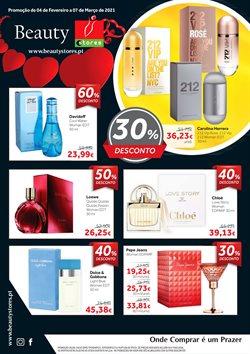 Ofertas Perfumarias e beleza no folheto Beauty em Setúbal ( 3 dias mais )