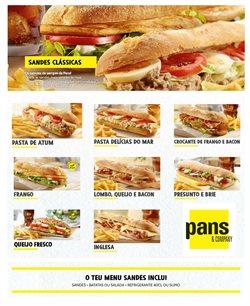 Ofertas Restaurantes no folheto Pans&Company em Coimbra ( 25 dias mais )