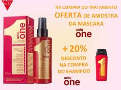Promoção de Perfumarias e beleza no folheto de RR Center em Lisboa