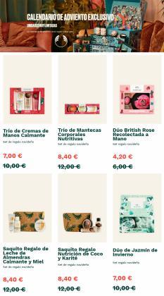 Ofertas de The Body Shop no folheto The Body Shop (  Publicado ontem)