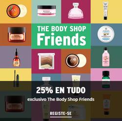 Promoção de The Body Shop no folheto de Lisboa