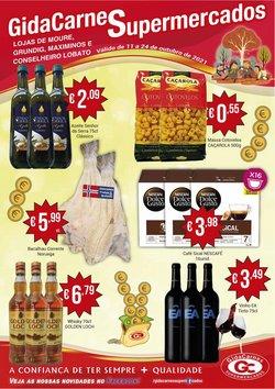 Ofertas de GidaCarnes Supermercados no folheto GidaCarnes Supermercados (  3 dias mais)