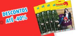 Promoção de All House no folheto de Coimbra