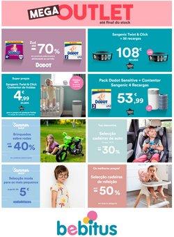 Ofertas de Bebés e brinquedos no folheto Bebitus (  4 dias mais)