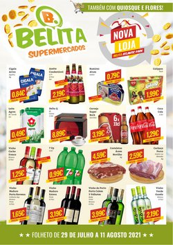 Ofertas de Belita Supermercados no folheto Belita Supermercados (  9 dias mais)