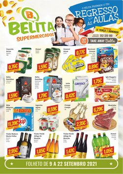 Ofertas de Belita Supermercados no folheto Belita Supermercados (  Expira hoje)