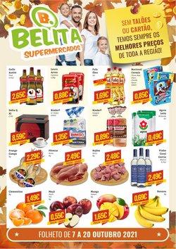Ofertas de Belita Supermercados no folheto Belita Supermercados (  3 dias mais)