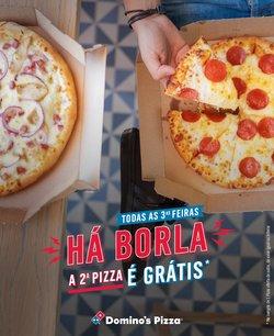 Ofertas de Restaurantes no folheto Domino's Pizza (  Expira hoje)