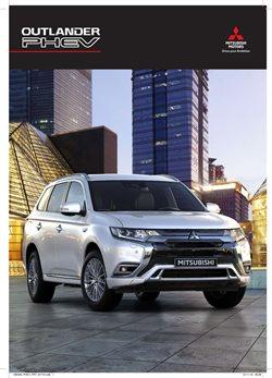 Folheto Mitsubishi ( Mais de um mês )