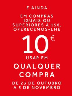 Promoção de Prénatal no folheto de Lisboa