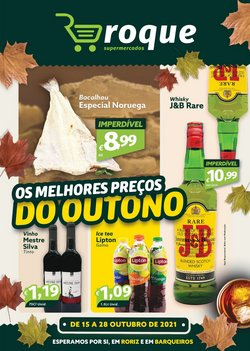 Ofertas de Roque Supermercados no folheto Roque Supermercados (  Expira hoje)
