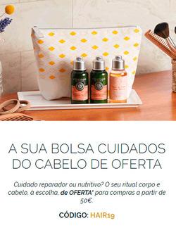 Promoção de L'Occitane no folheto de Lisboa