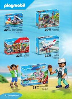 Ofertas de Playmobil no folheto Juguetoon (  Mais de um mês)