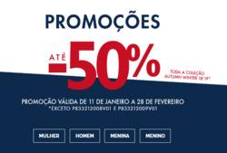Promoção de Lion of Porches no folheto de Lisboa