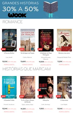 Ofertas de Livrarias, Papelaria e Hobbies no folheto WOOK (  Expira hoje)