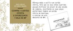 Promoção de Promod no folheto de Lisboa