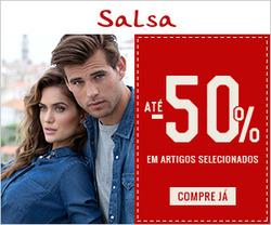 Promoção de Salsa no folheto de Lisboa