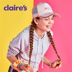 Folheto Claire's ( Mais de um mês )