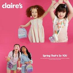 Folheto Claire's ( Publicado há 2 dias )