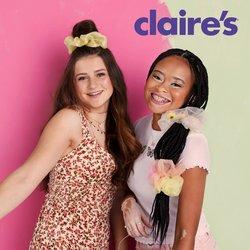 Ofertas de Claire's no folheto Claire's (  13 dias mais)