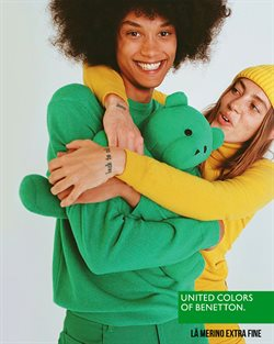Folheto United Colors of Benetton ( 26 dias mais )