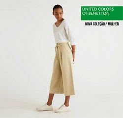 Folheto United Colors of Benetton ( Mais de um mês )