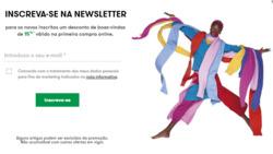 Promoção de United Colors of Benetton no folheto de Lisboa
