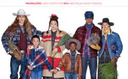 Promoção de United Colors of Benetton no folheto de Portalegre