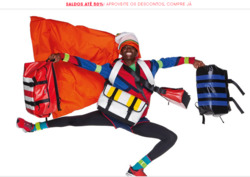 Promoção de United Colors of Benetton no folheto de Funchal