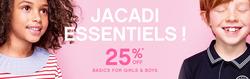 Promoção de Jacadi no folheto de Lisboa