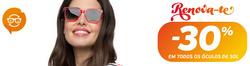 Promoção de Óticas e centros auditivos no folheto de Mais Optica em Vila Real
