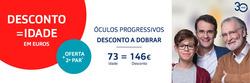 Promoção de Óticas e centros auditivos no folheto de MultiOpticas em Santo António dos Cavaleiros