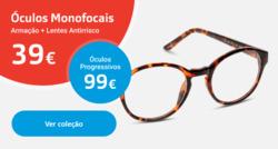 Promoção de Óticas e centros auditivos no folheto de MultiOpticas em Penafiel