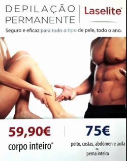 Promoção de Multinails no folheto de Porto