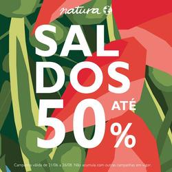 Promoção de Natura Selection no folheto de Funchal
