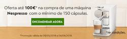 Promoção de Nespresso no folheto de Lisboa