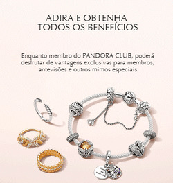 Promoção de Pandora no folheto de Lisboa