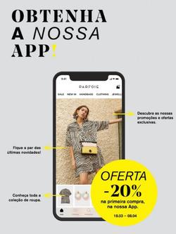Promoção de Parfois no folheto de Lisboa