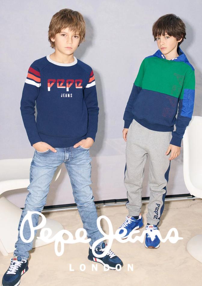 Promoção de Pepe Jeans no folheto de Lisboa