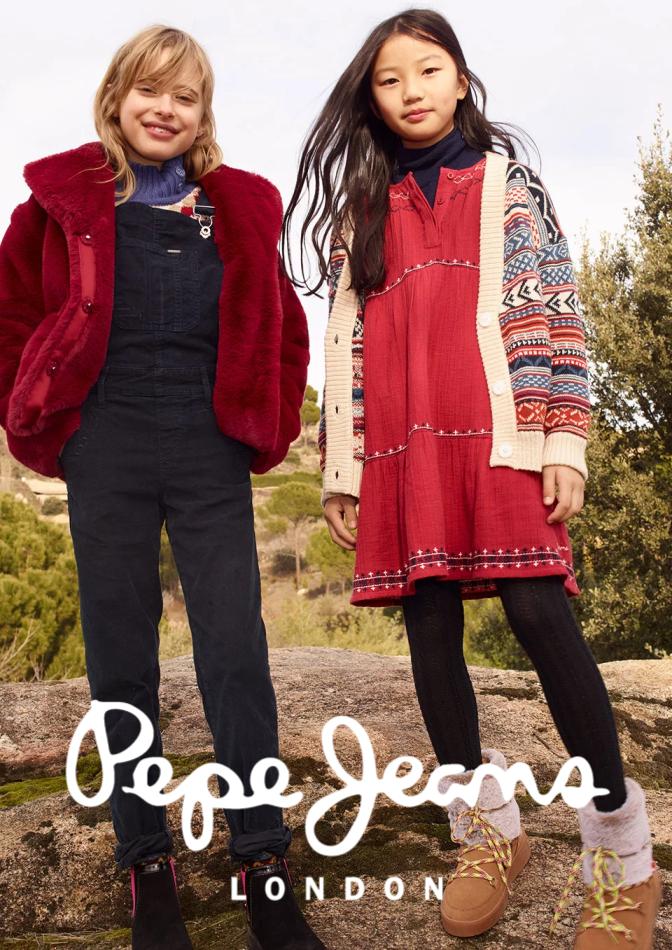 Promoção de Pepe Jeans no folheto de Coimbra